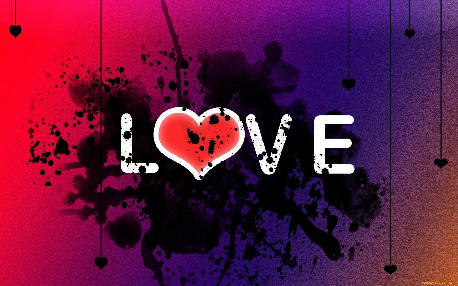Картинки с надписями про любовь в контакт
